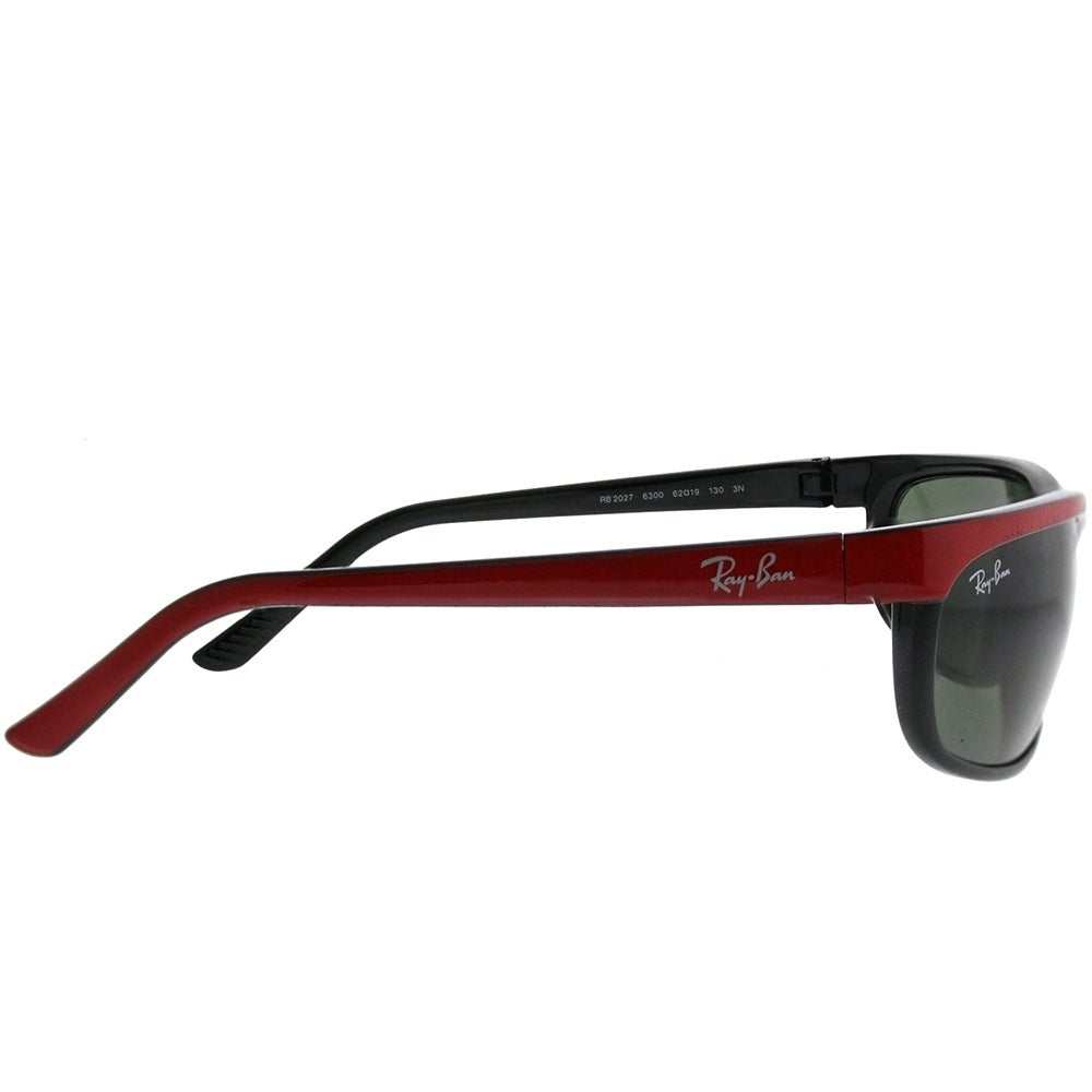 ce3bd835c77 Shop Ray-Ban Sport RB 2027 Predator 2 6300 Unisex Red on Black Frame Green  Lens Sunglasses - On Sale - Free Shipping Today - Overstock - 21898217