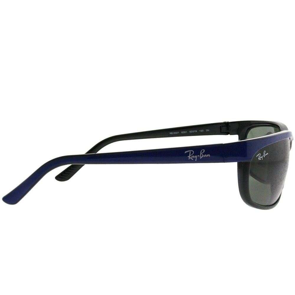 shop ray ban sport rb 2027 predator 2 6301 unisex blue on black rh overstock com