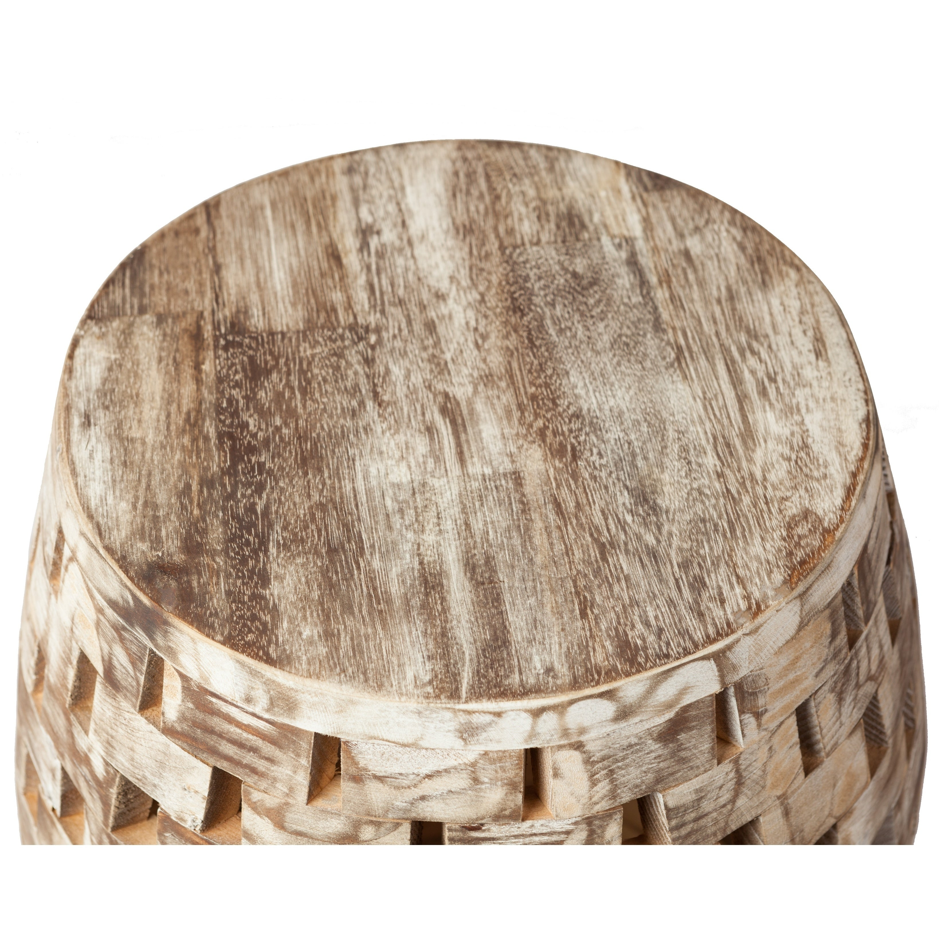 Charming Shop Recycled Wood Garden Stool   N/A   On Sale   Free Shipping Today    Overstock.com   21903858