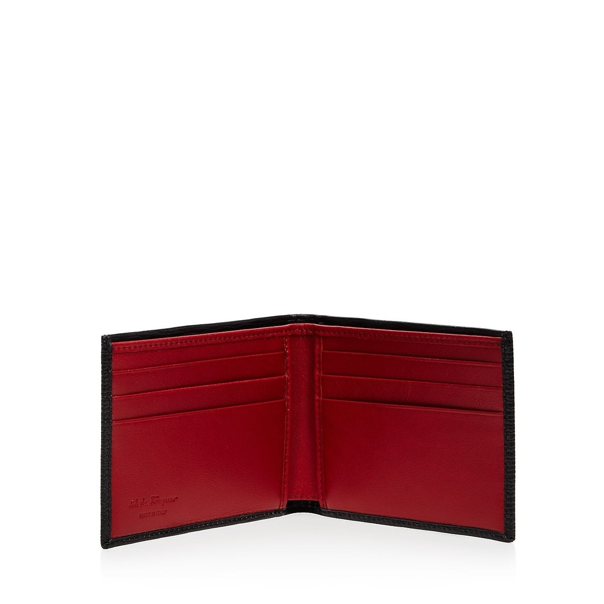 f42dc80bb77a1 Shop Salvatore Ferragamo Men s Revival Bifold Wallet - Free Shipping Today  - Overstock - 21905817
