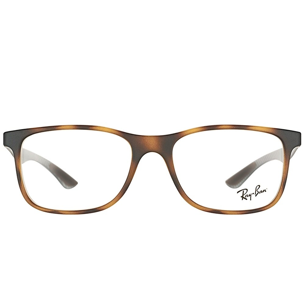 aaf6ff0078 Shop Ray-Ban Rectangle RX 8903 5200 Unisex Matte Havana Frame Eyeglasses -  Free Shipping Today - Overstock - 21910066