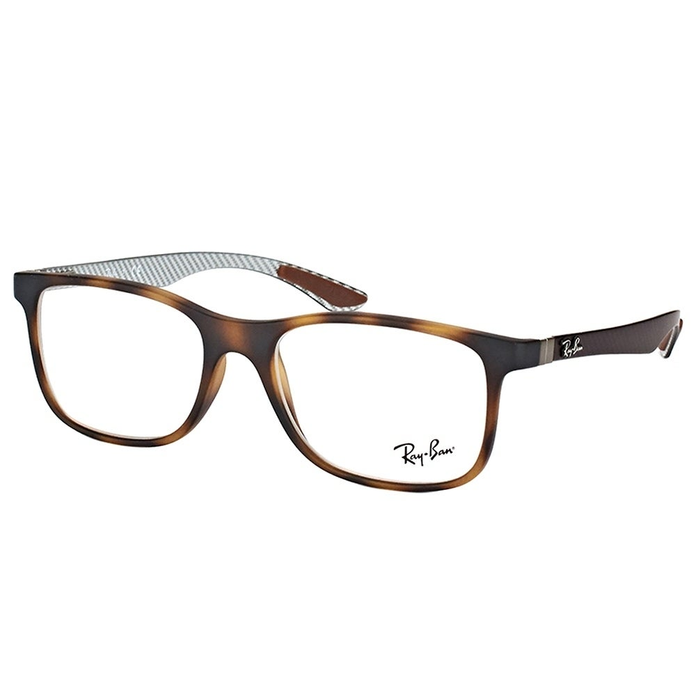 f4722dcbd7 Ray-Ban Rectangle RX 8903 5200 Unisex Matte Havana Frame Eyeglasses