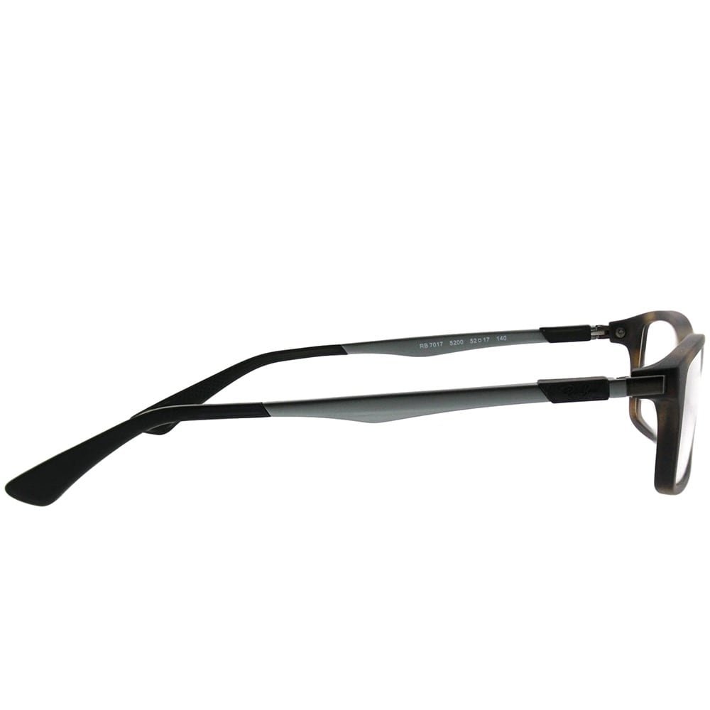 fdad283296 Shop Ray-Ban Rectangle RX 7017 5200 Unisex Matte Havana Frame Eyeglasses -  Free Shipping Today - Overstock - 21911416