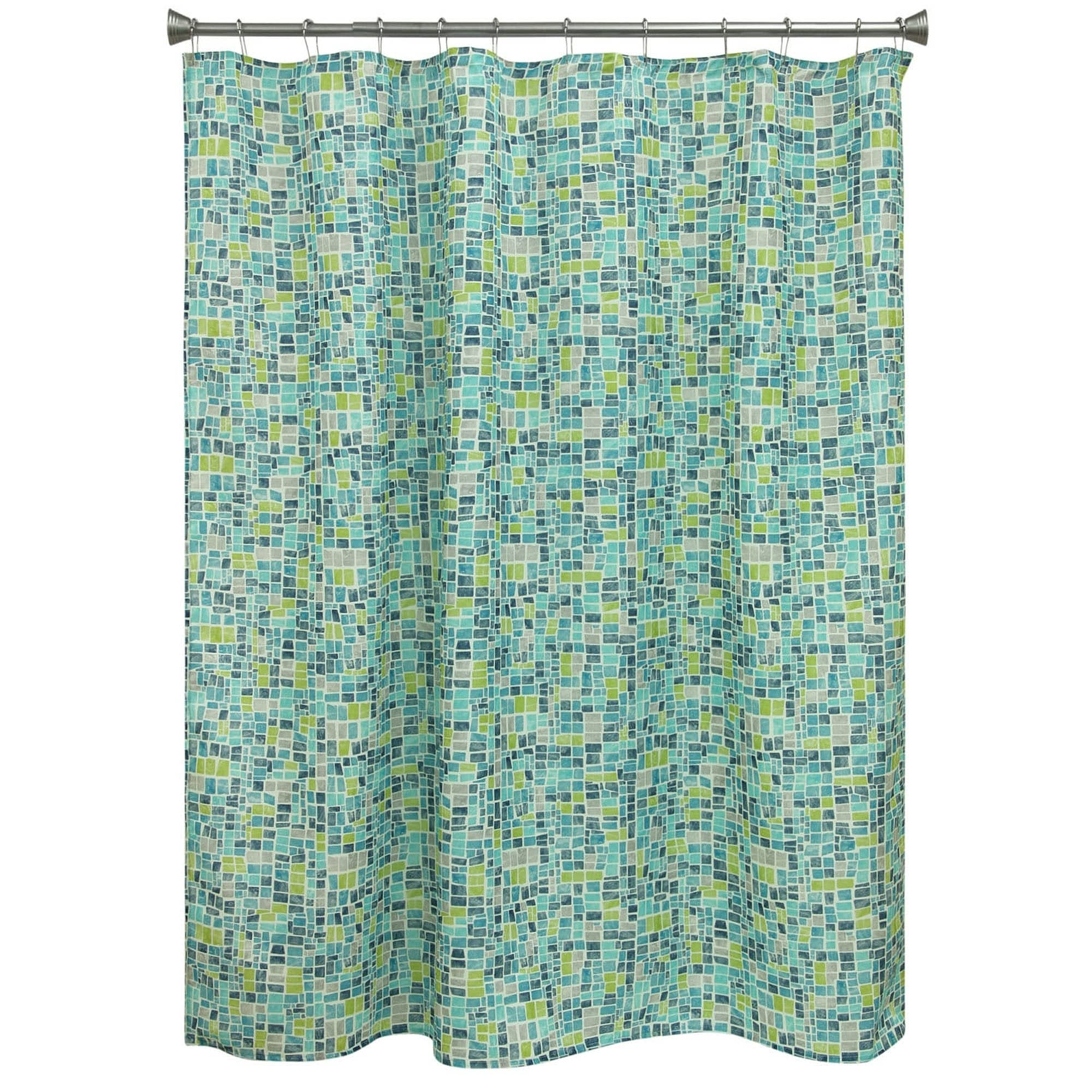 Shop Mosaic Tiles shower curtain by Bacova - On Sale - Free Shipping ...