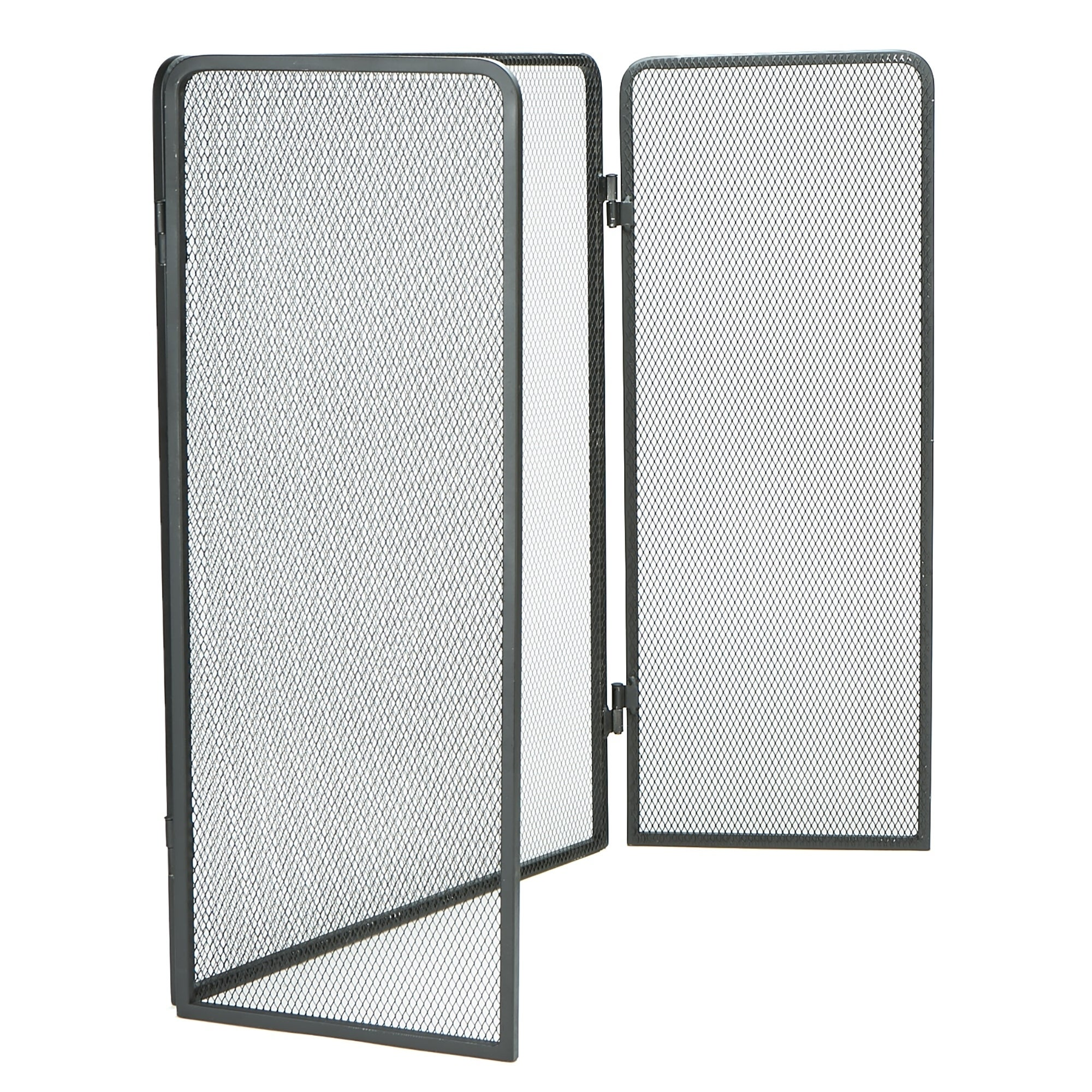 Shop Mind Reader 3 Panel Fire Place Screen Door Panel With Double