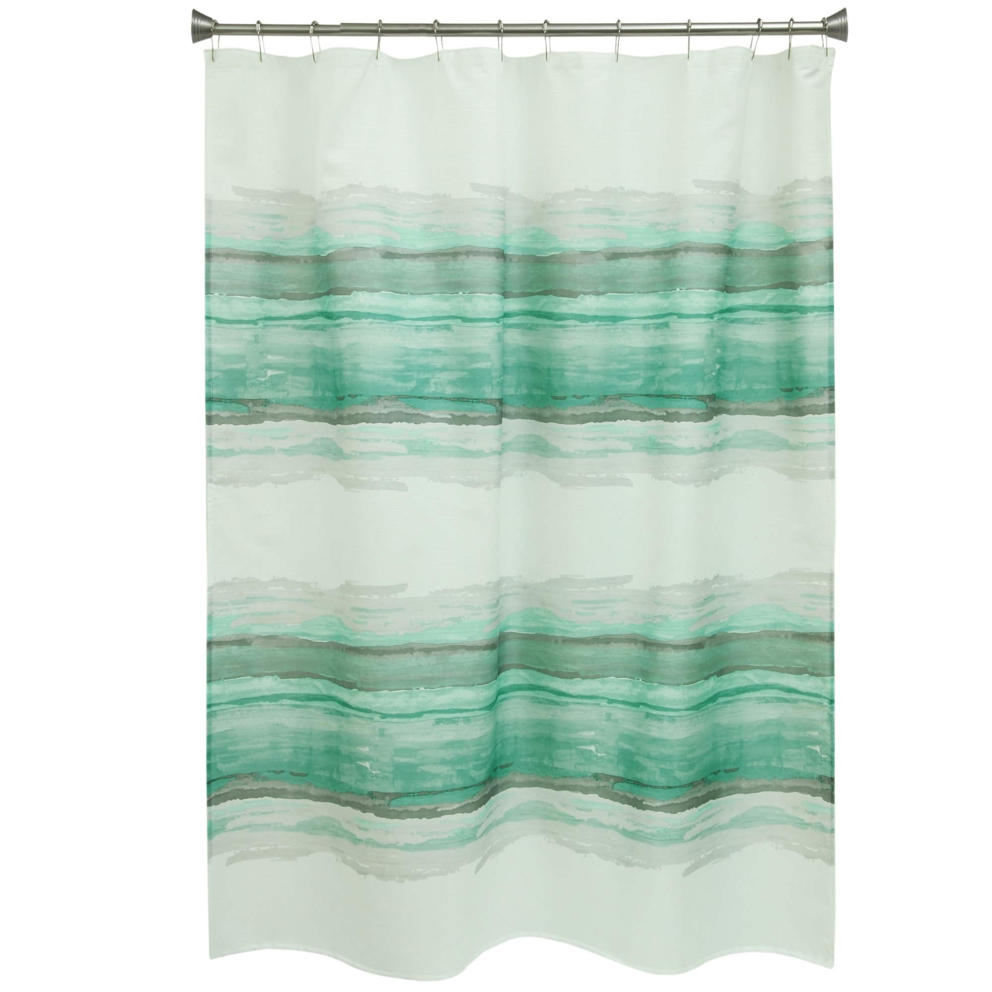 Shop Drake Mirage Shower Curtain By Bacova
