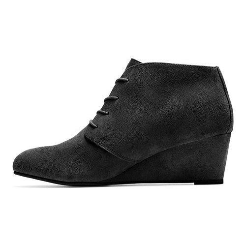 016181950312 ... Thumbnail Women  x27 s Vionic with Orthaheel Technology Becca Wedge  Bootie Black