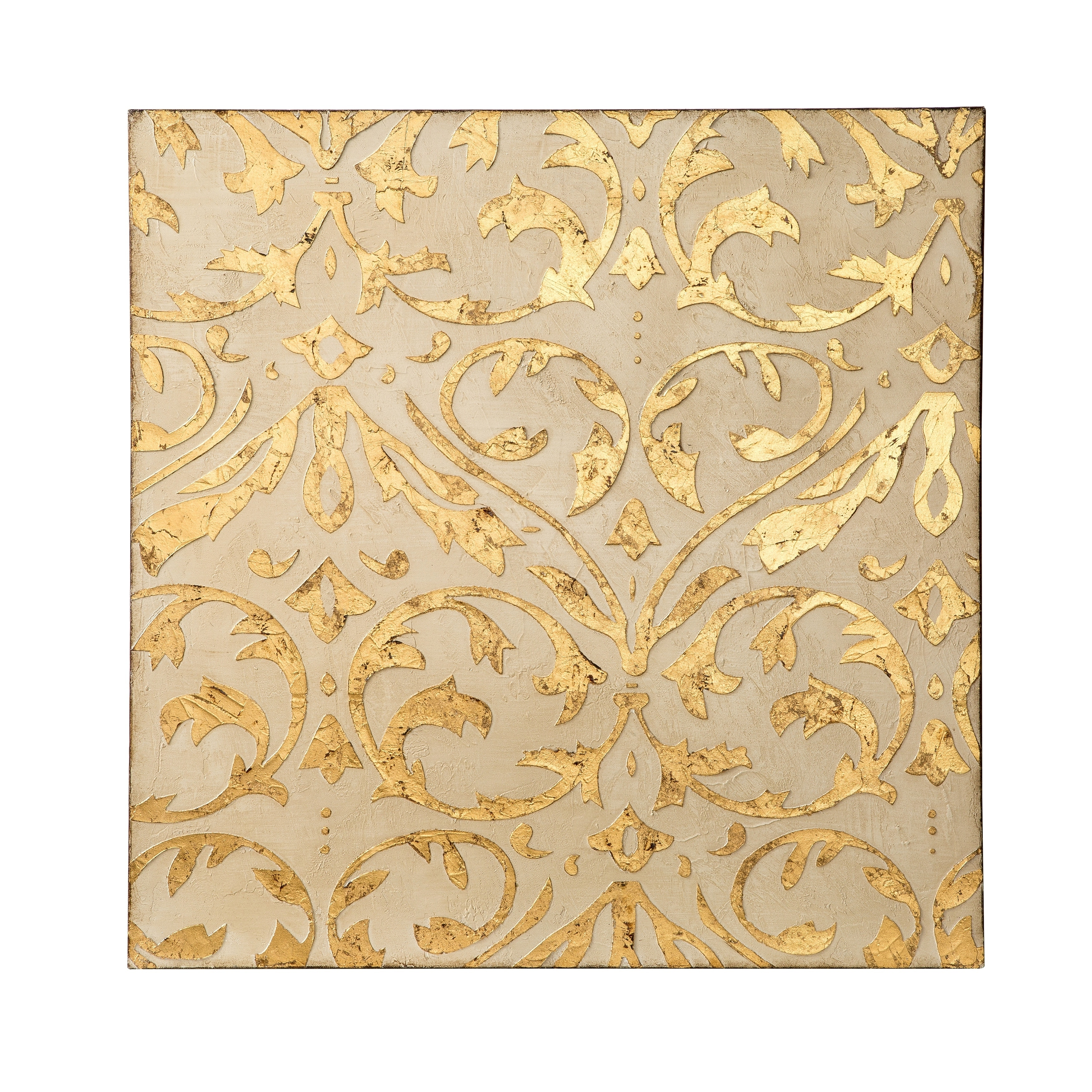 Shop Varaluz Casa Ivory, Gold 3D Wall Art - Free Shipping Today ...