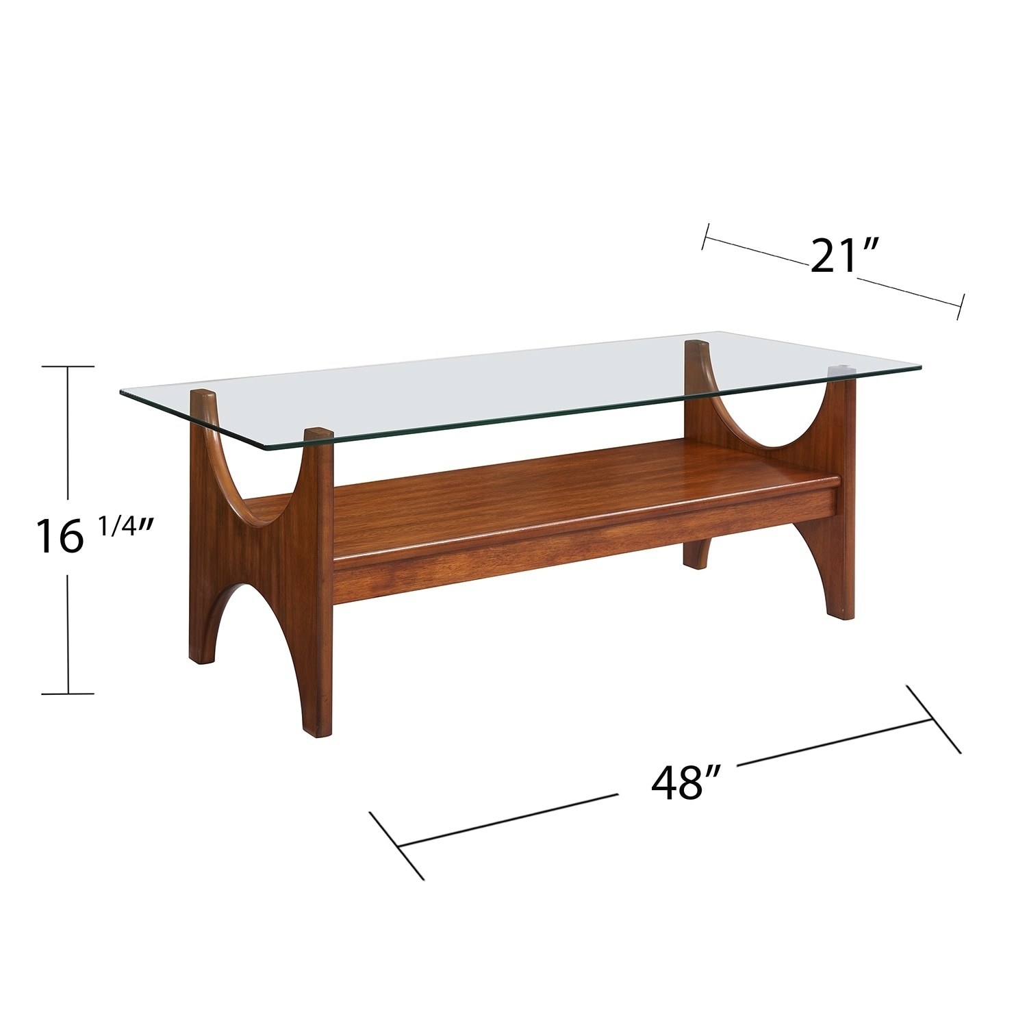 Shop Palm Canyon Racquet Dark Sienna Cocktail Table   On Sale   Free  Shipping Today   Overstock.com   22623036
