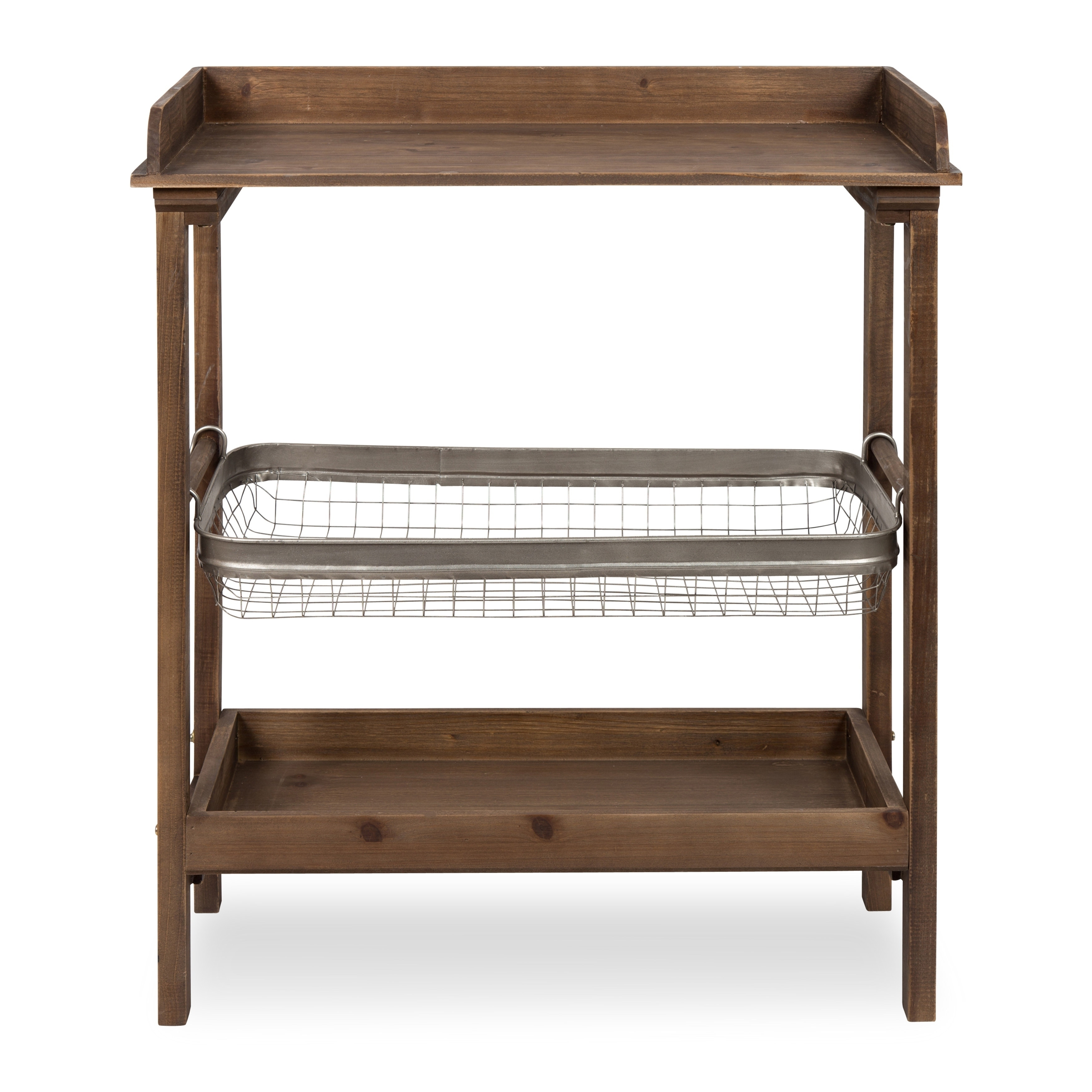 Merveilleux Kate And Laurel Yanisin Rustic Chic 3 Tier Table