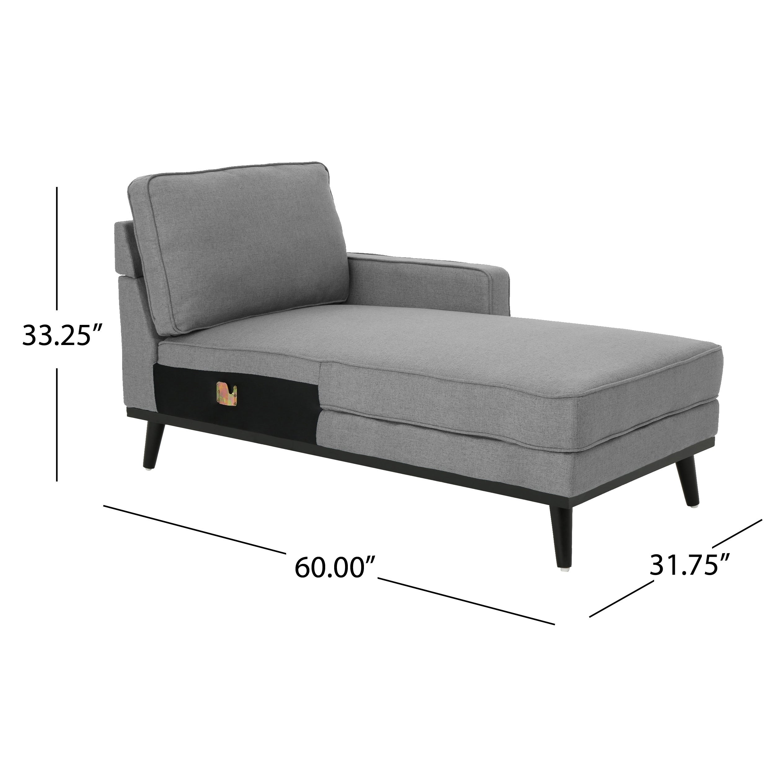 Matilda Mid Century Fabric Chaise Sectional Sofa By Christopher Knight Home Free Shipping Today 22057532