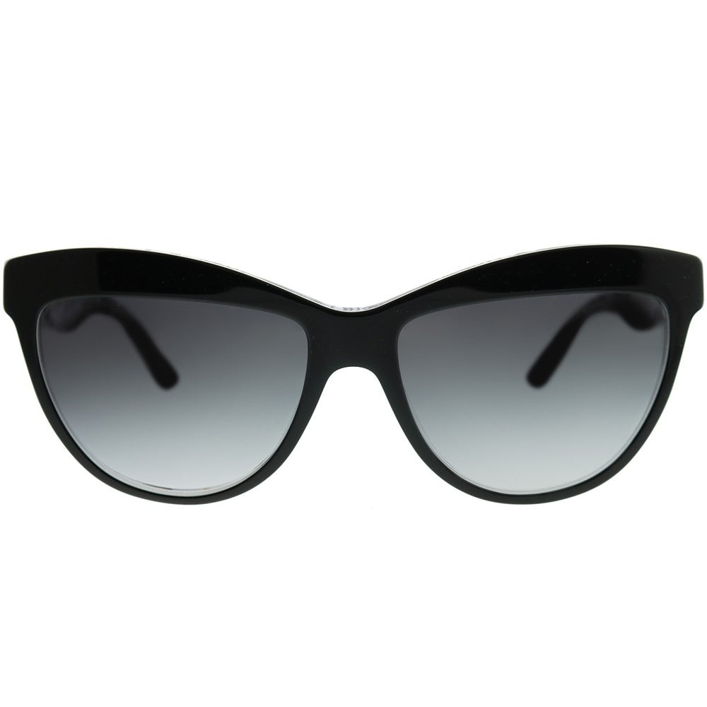 6ea97a4c188d Shop Burberry Cat-Eye BE 4267 Doodle 37138G Woman Black on Doodle Pint Frame  Grey Gradient Lens Sunglasses - Free Shipping Today - Overstock - 22065970