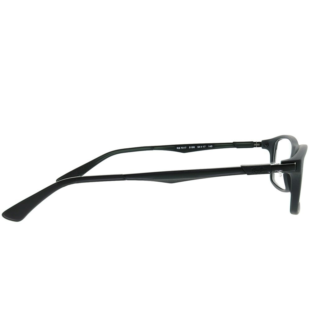 29a0305449 Shop Ray-Ban Rectangle RX 7017 5196 Unisex Matte Black Frame Eyeglasses -  Free Shipping Today - Overstock - 22065978