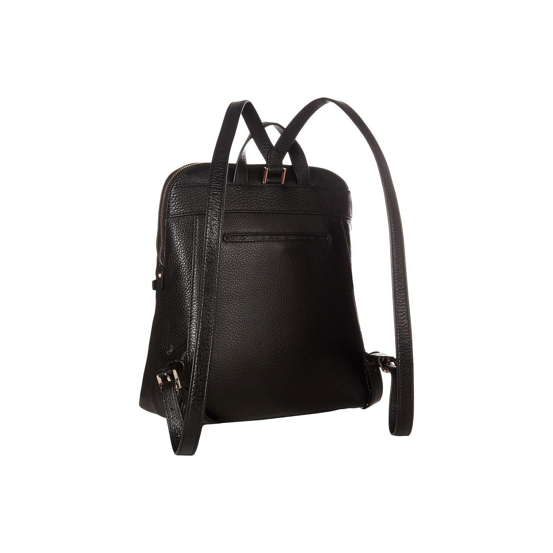a112e5a2bc13 Shop MICHAEL Michael Kors Rhea Zip Medium Slim Black Backpack - Free  Shipping Today - Overstock - 22077830
