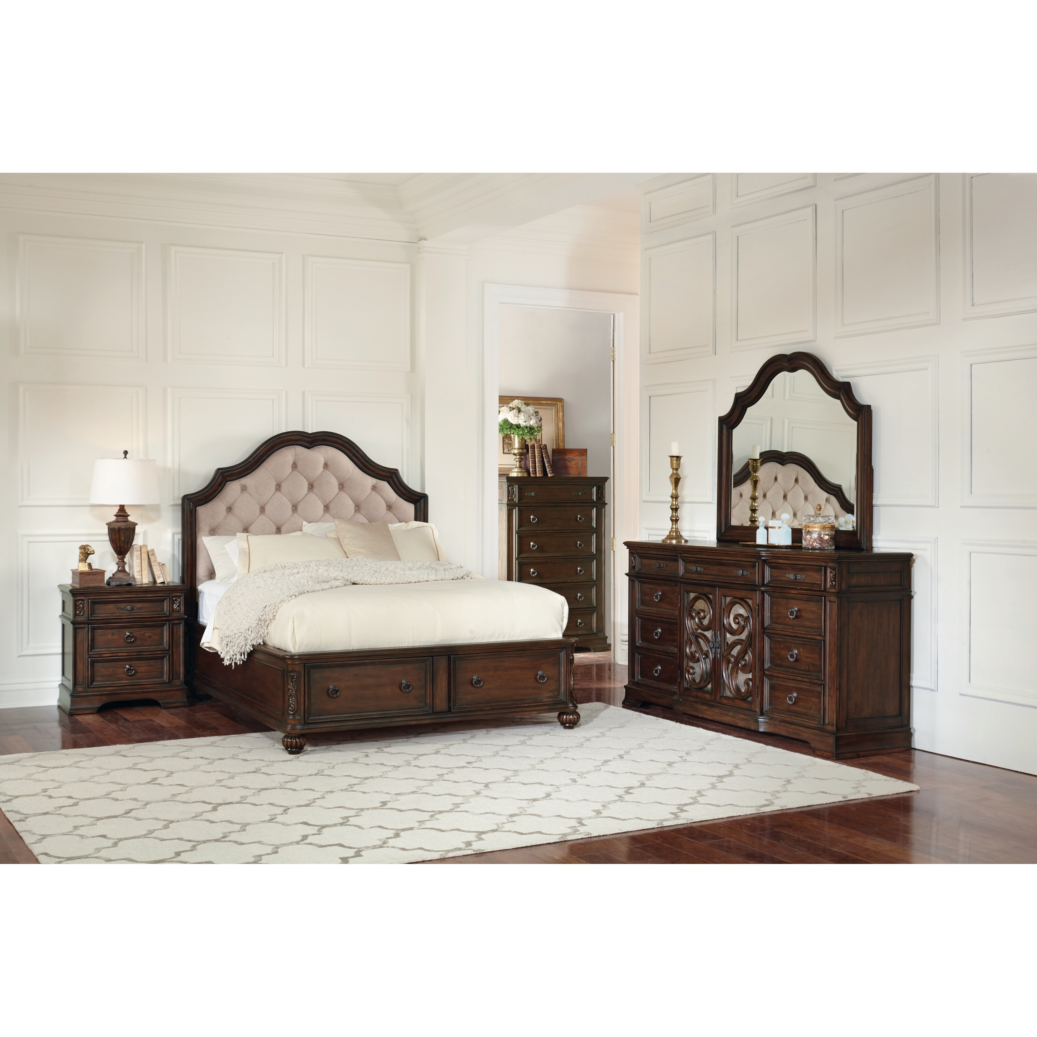 Ilana Traditional Antique Java Bed  Free Shipping Today