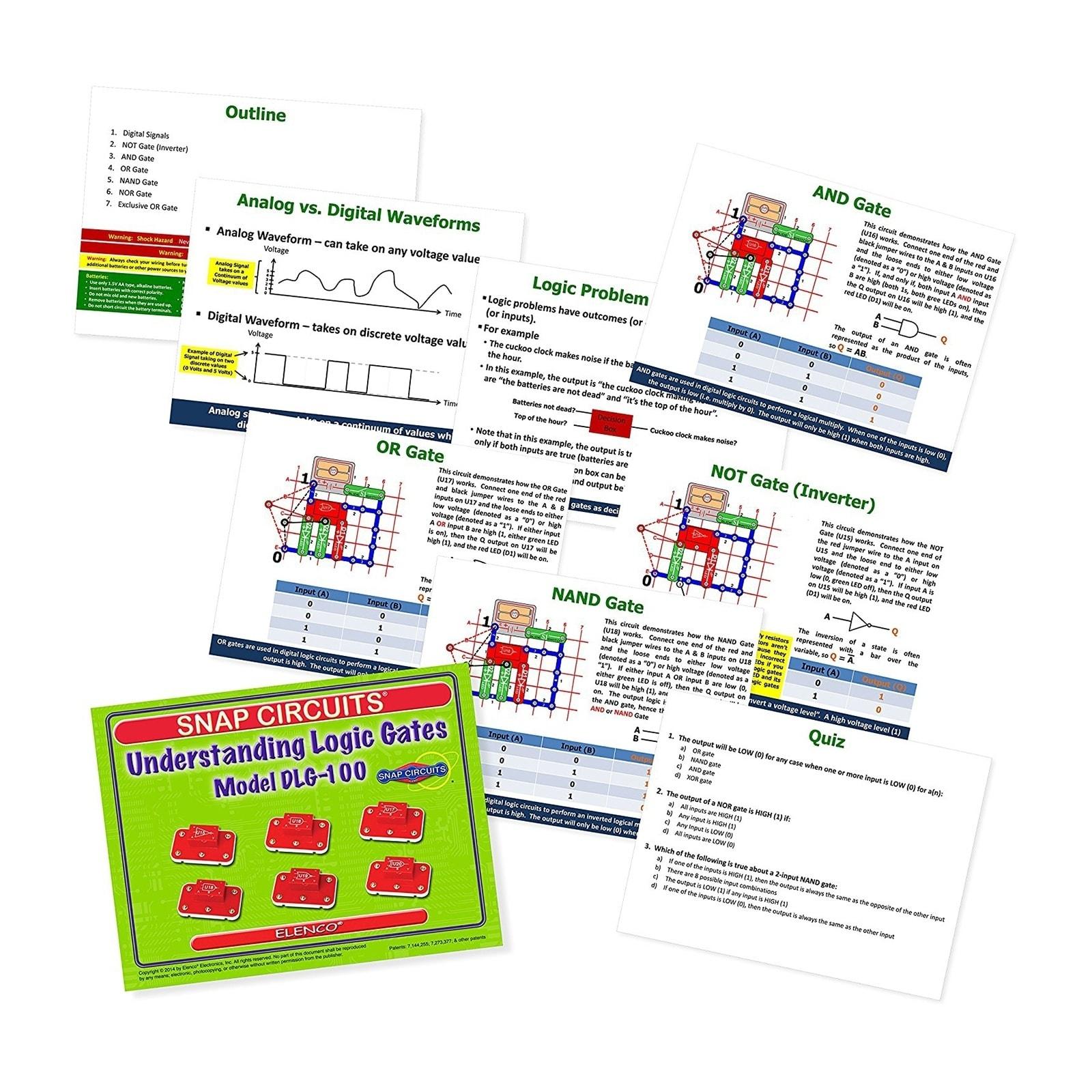 Shop Snap Circuits Digital Logic Gates Discovery Set Free Shipping Circuit Using Today 22084463