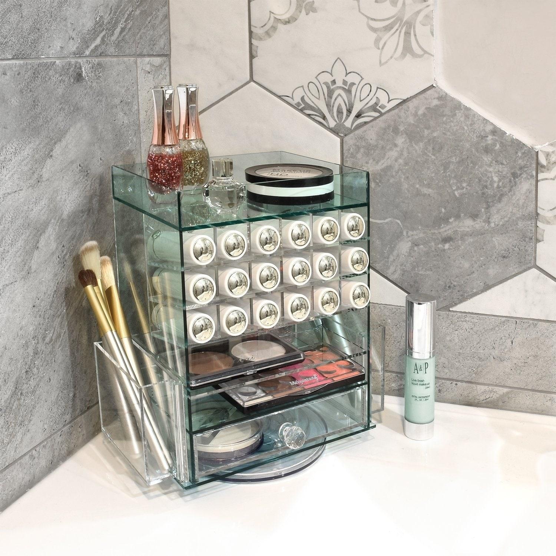 Ikee Design Jewelry Cosmetic Storage Makeup Organizer Lipstick Holder