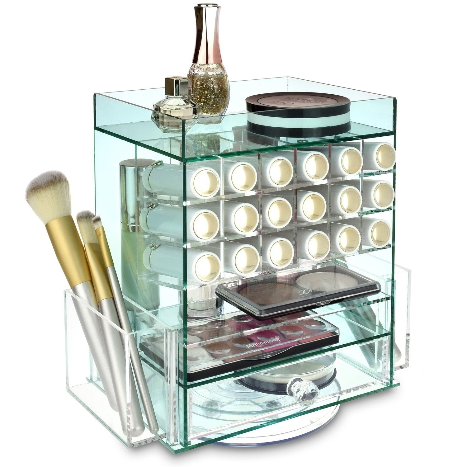 Ikee Design Jewelry Cosmetic Storage Makeup Organizer Lipstick Holder