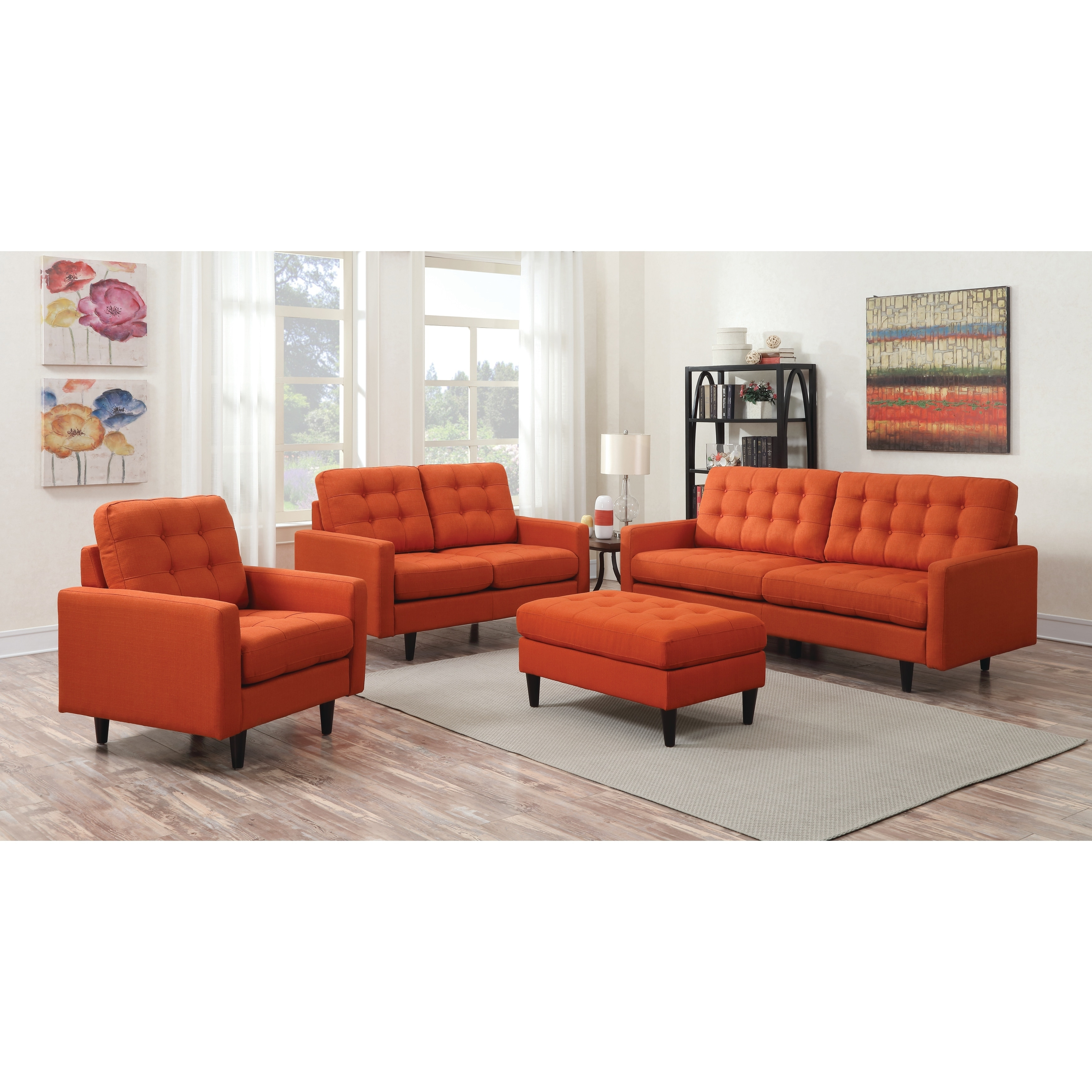 Shop Kesson Mid Century Modern Sofa Free Shipping Today