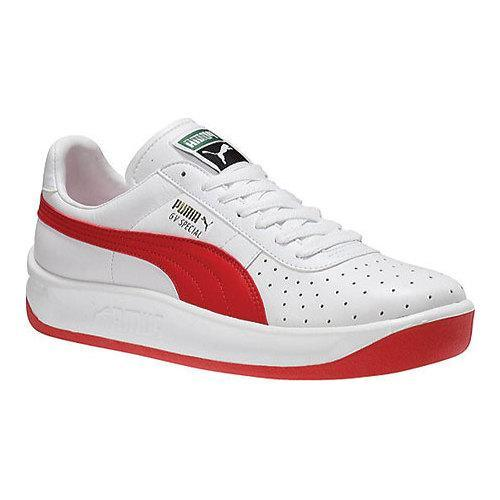 928ceb051231 Shop Men s PUMA GV Special White Puma Red - Free Shipping On Orders Over   45 - Overstock - 18910975