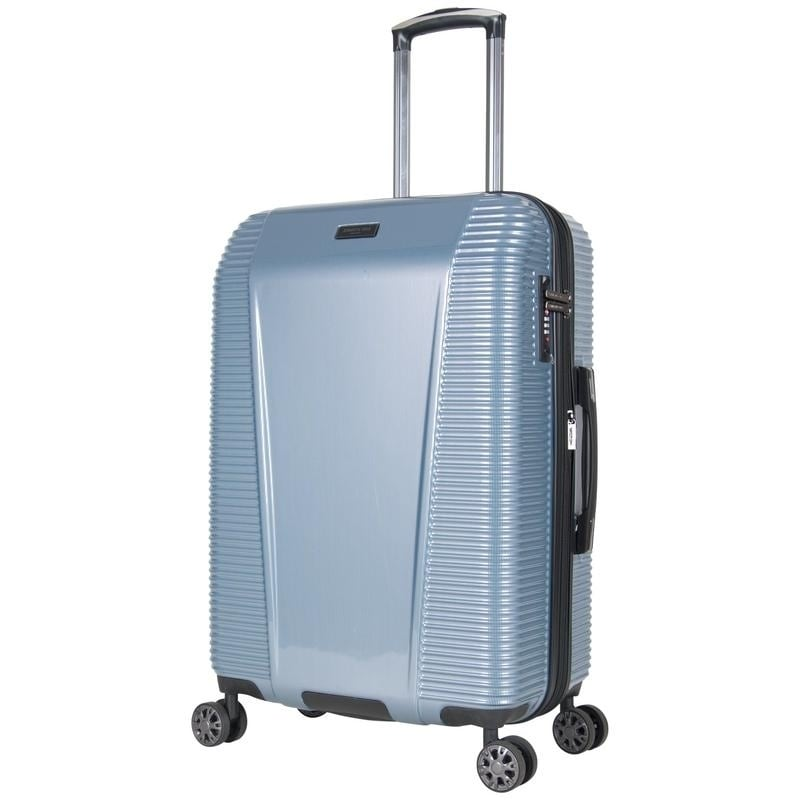 064563bbf Shop Kenneth Cole Sudden Impact 24in Lightweight Hardside Expandable  8-Wheel Spinner Checked Luggage With TSA Lock - Free Shipping Today -  Overstock - ...