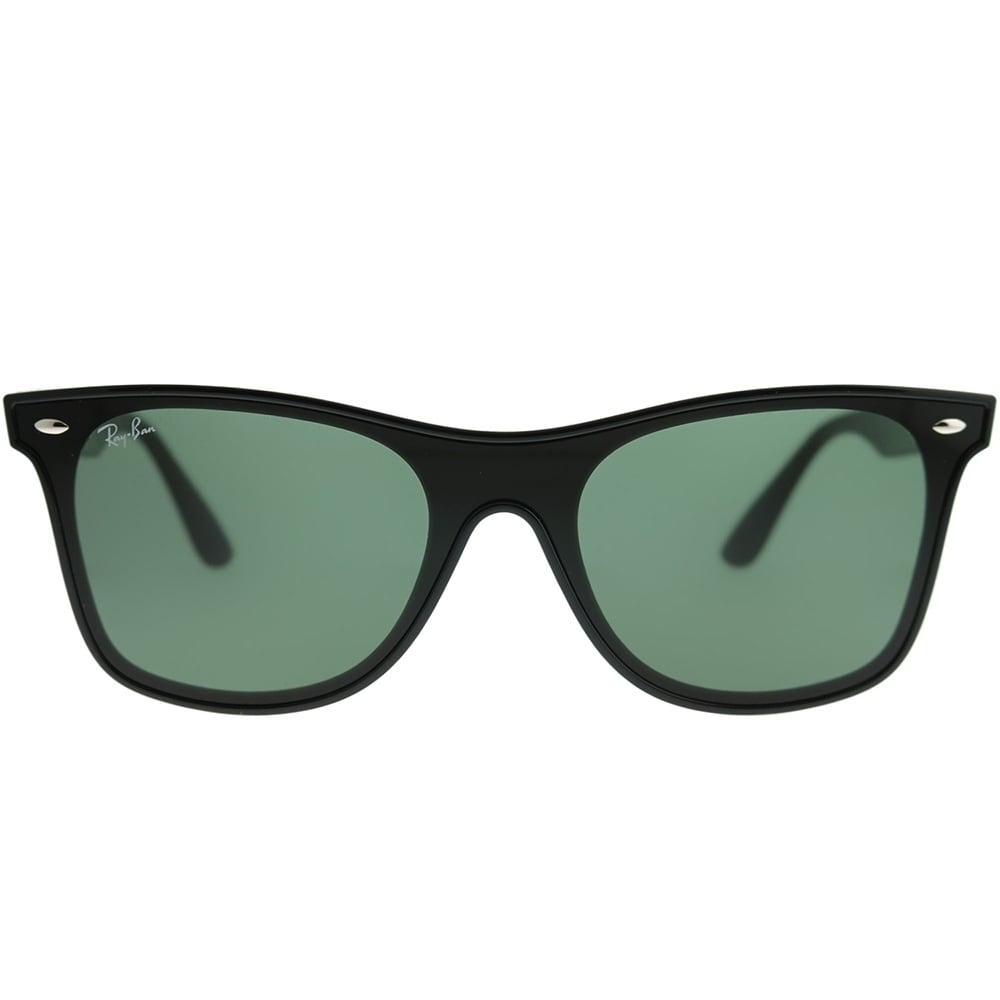 34c212676af Shop Ray-Ban Wayfarer RB 4440N Blaze Wayfarer 601 71 Unisex Black Frame  Green Lens Sunglasses - Free Shipping Today - Overstock - 22134196
