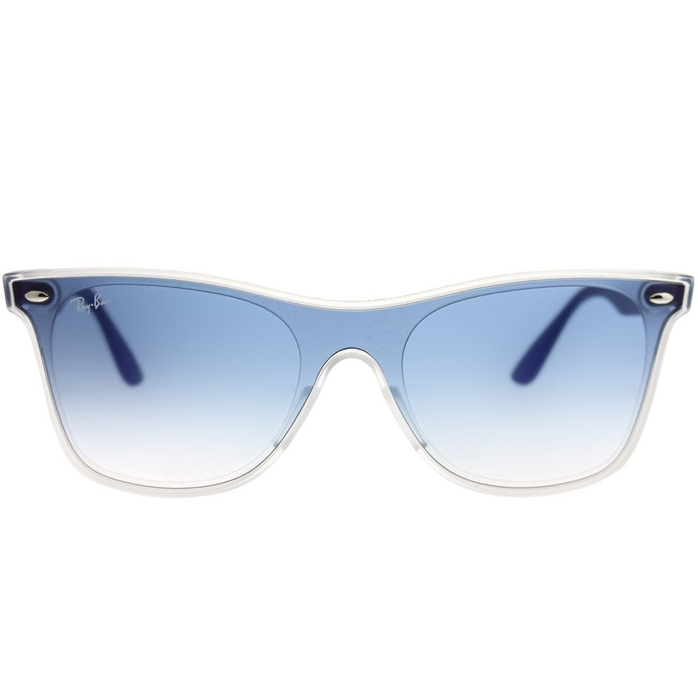 e68fff9b62 Shop Ray-Ban Wayfarer RB 4440N Blaze Wayfarer 6356X0 Unisex Matte  Trasparent Frame Blue Gradient Mirror Red Lens Sunglasses - Free Shipping  Today ...
