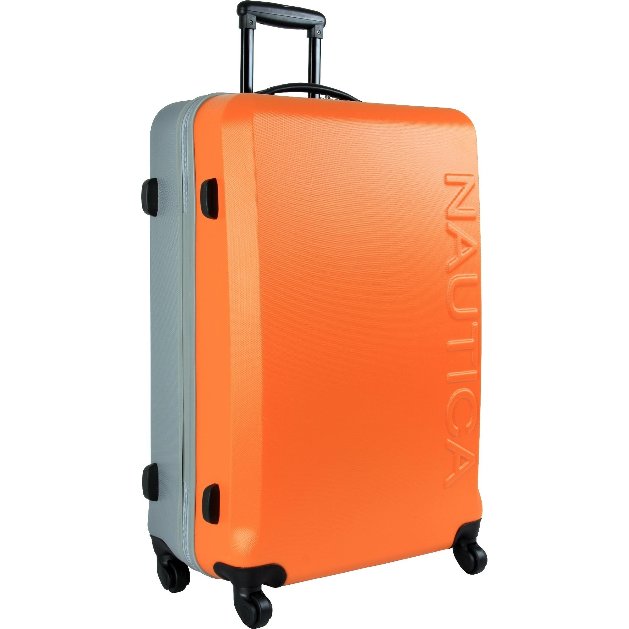 01733838ed11 Nautica Ahoy 28 inch hardside spinner luggage