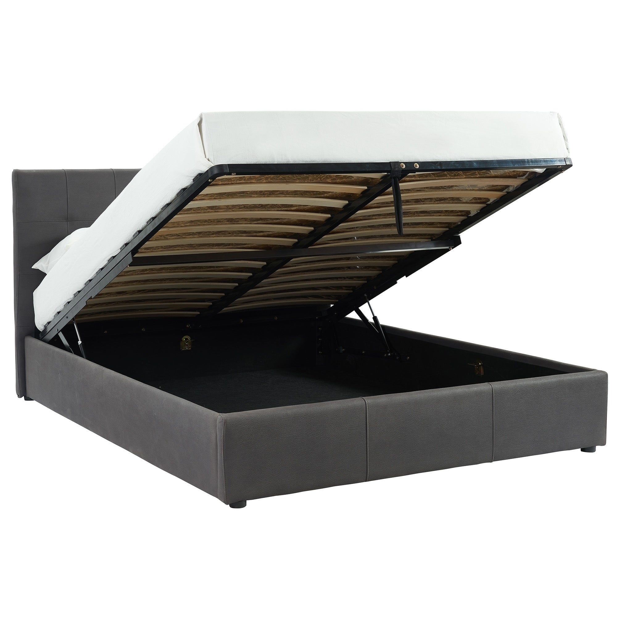 Hydraulic Lift Platform Storage Bed