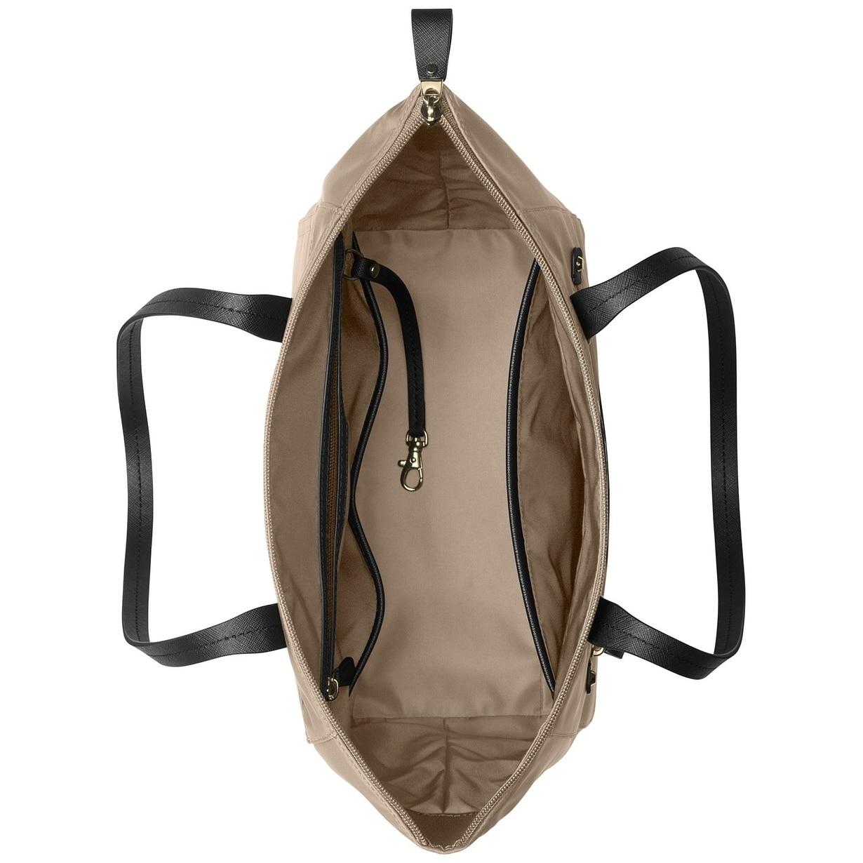 4cfd1ba59367 Shop MICHAEL Michael Kors Kelsey Medium Top-Zip Tote Truffle - Free  Shipping Today - Overstock - 22161711
