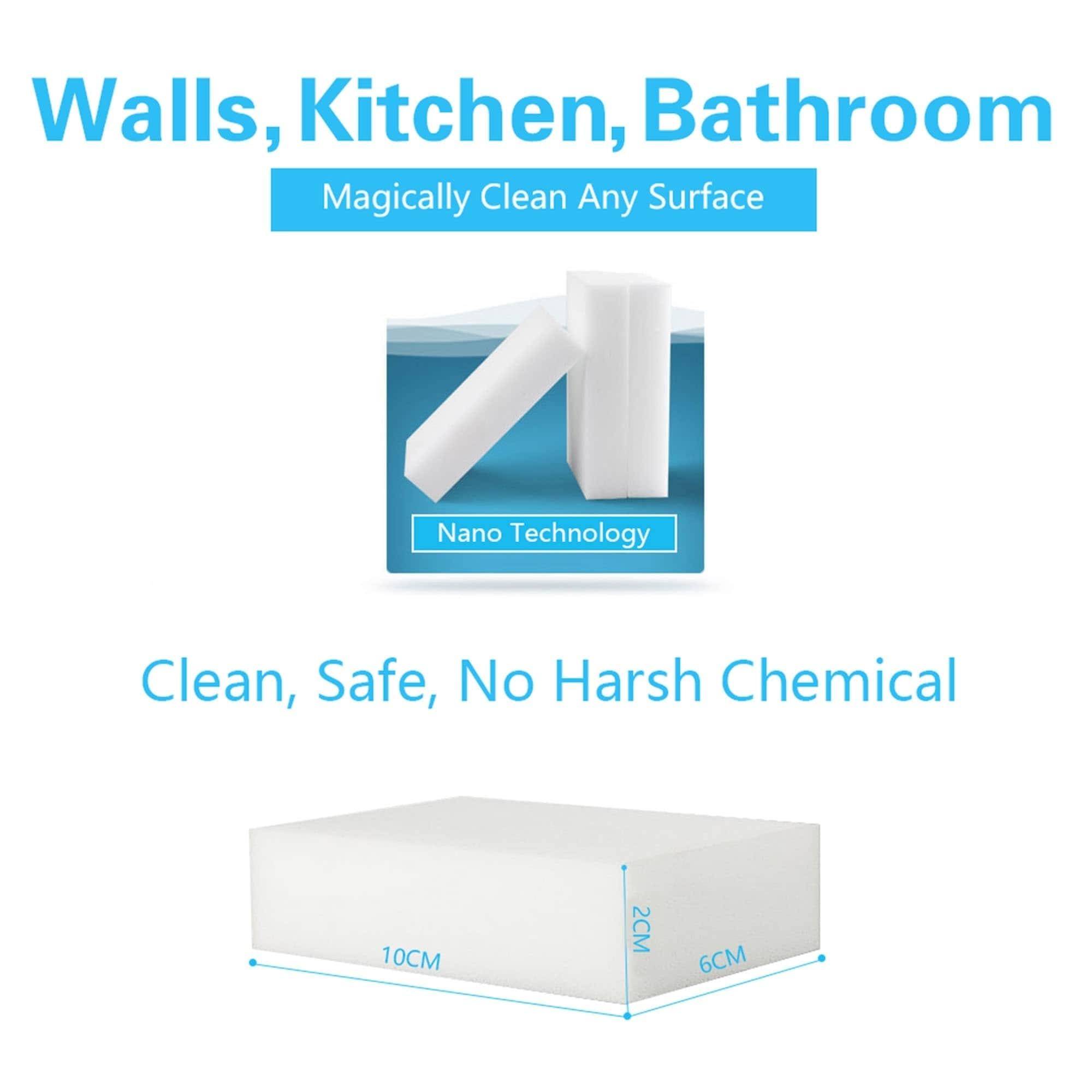 Shop Magic Cleaning Sponge Eraser For All Surface Melamine 10 Packs ...