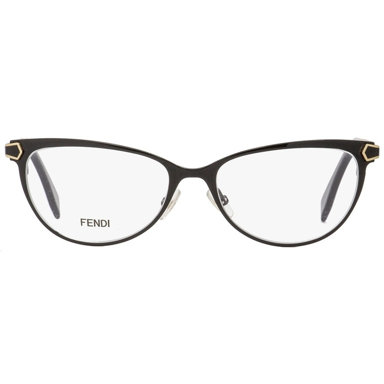 09aaea207bf4 Shop Fendi FF0024 7WH Mens Black Gold 53 mm Eyeglasses - Free Shipping  Today - Overstock.com - 22165370