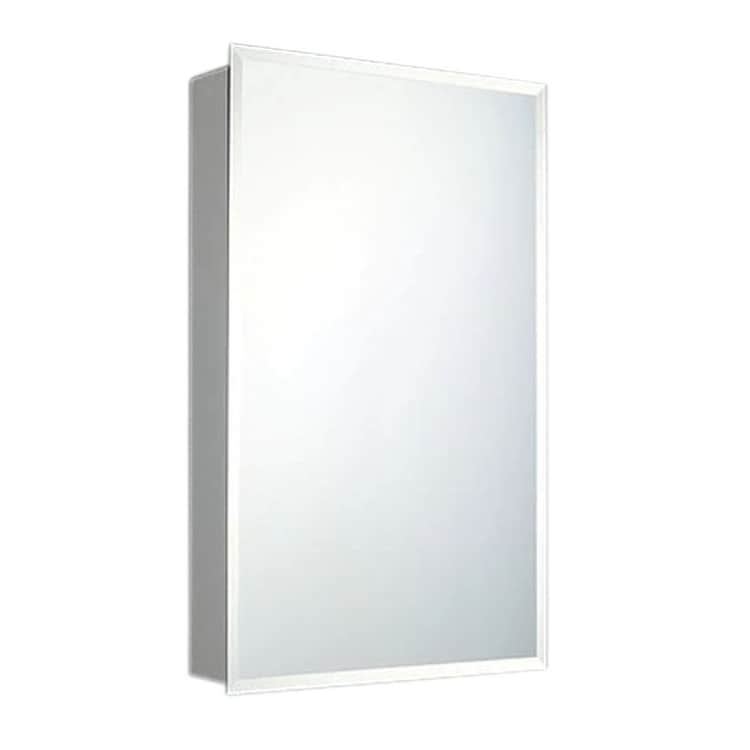 Ketcham Cabinets Deluxe Series Single Door Medicine Cabinet Beveled Edge Mirror Surface Mount Free Shipping Today 22165973