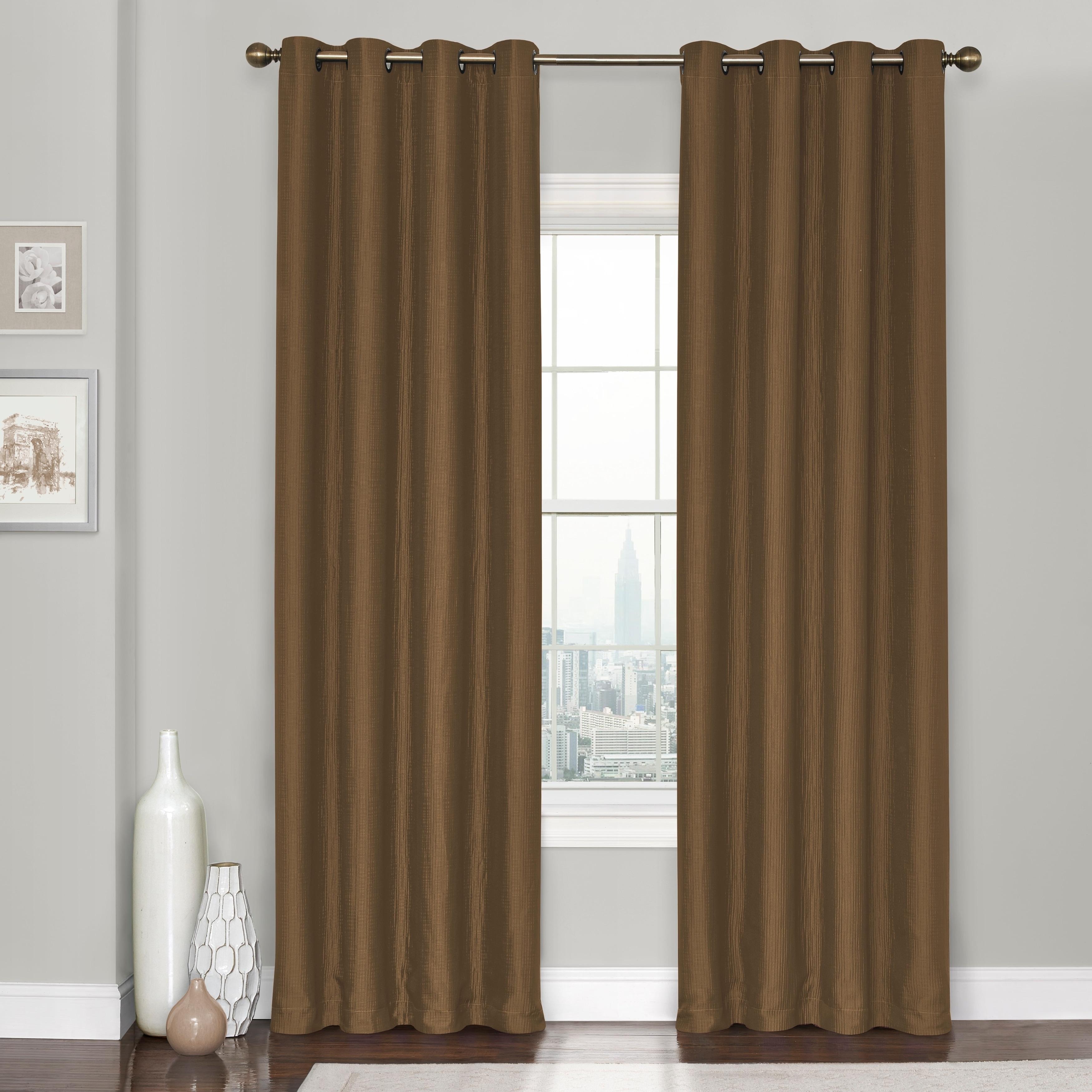Heavy Black Curtains