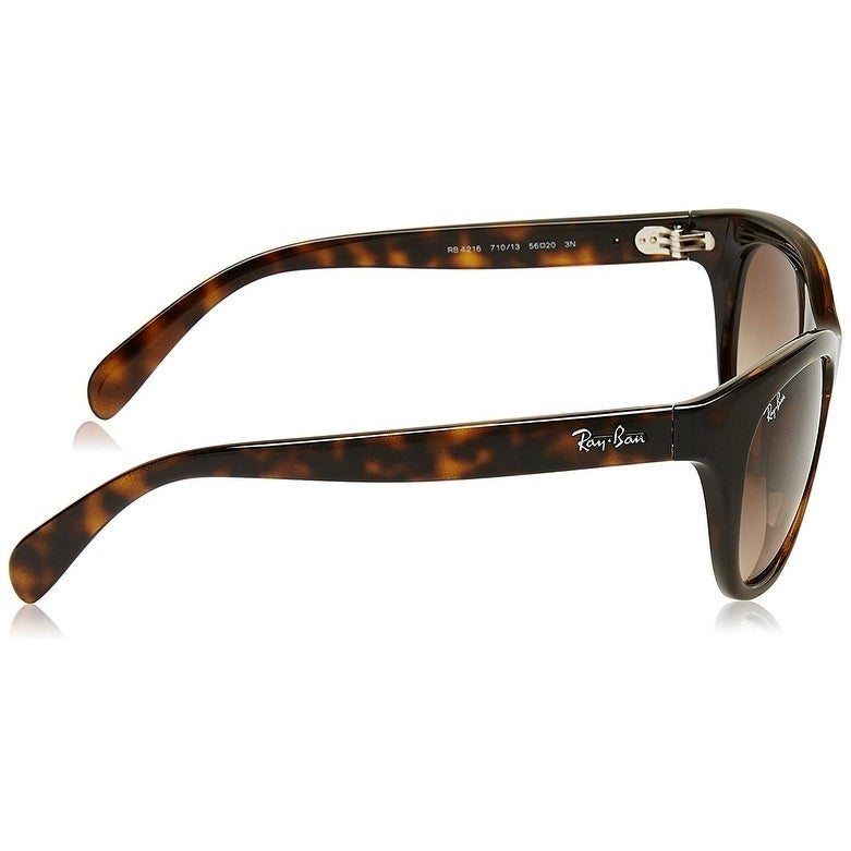 95260b8da6d Shop Ray-Ban RB4216 Tortoise Frame Brown Gradient 56mm Lens Sunglasses -  Ships To Canada - Overstock.ca - 22237862