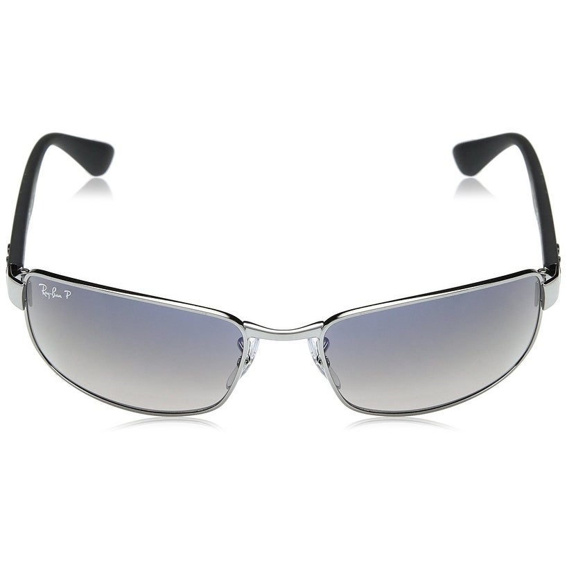 1f51fcba84 Shop Ray-Ban RB3478 Gunmetal Frame Polarized Blue Grey Gradient 60mm Lens  Sunglasses - Free Shipping Today - Overstock - 22237888