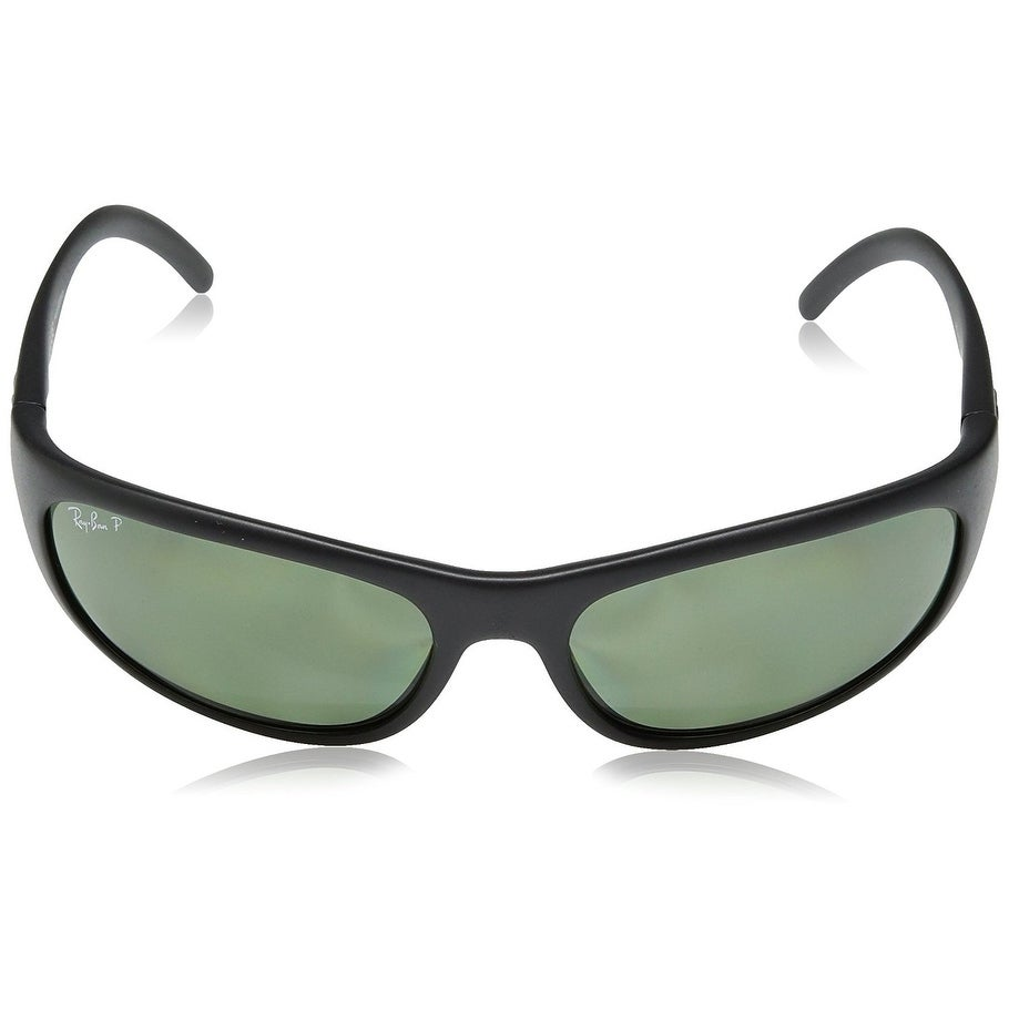 80724d4b77f Shop Ray-Ban RB4033 Predator Black Frame Polarized Green Classic 60mm Lens  Sunglasses - Free Shipping Today - Overstock - 22237917