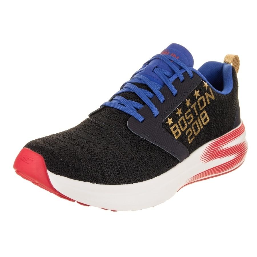 Skechers Men's Go Run Ride 7 Boston Marathon 2018 Training Shoe