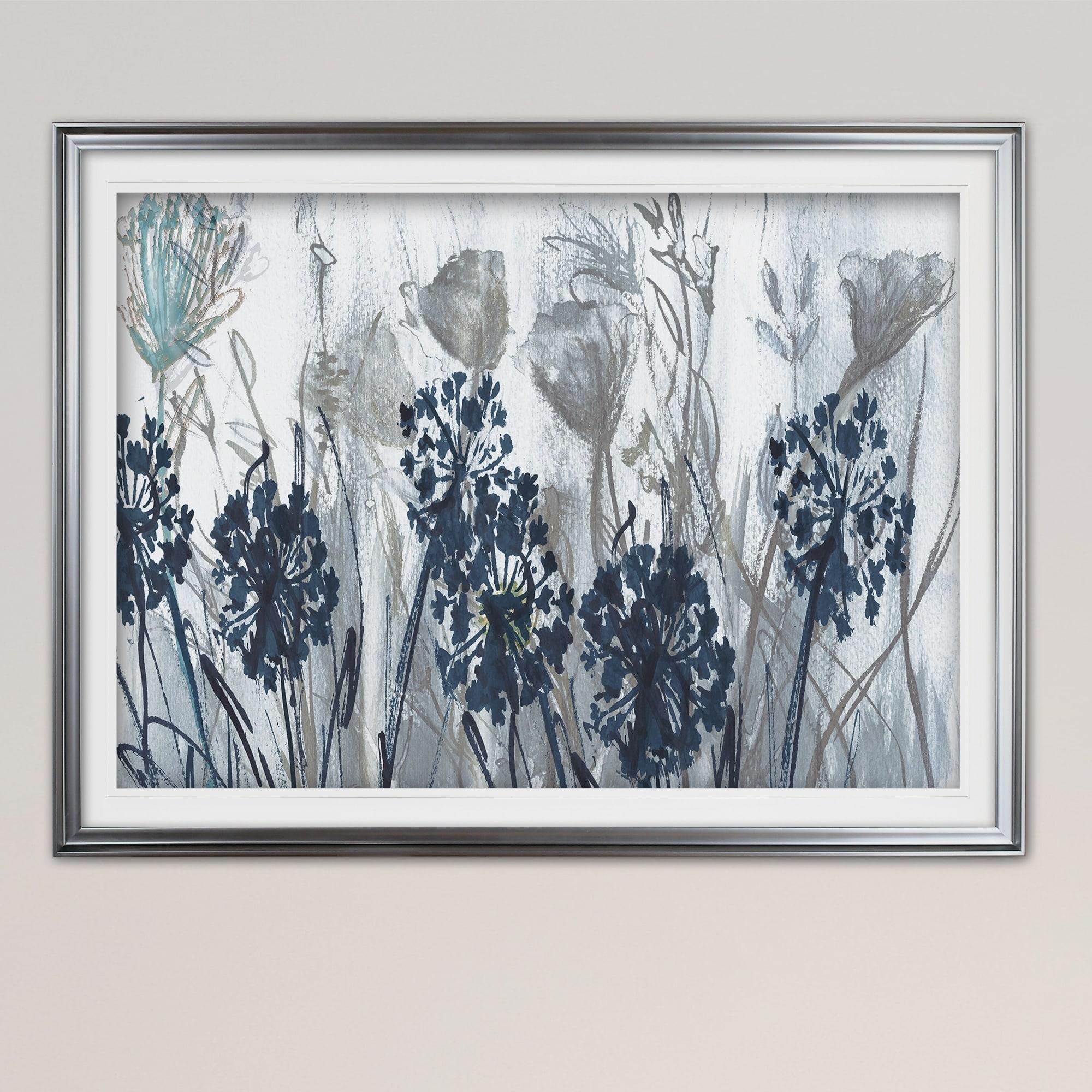 ff84e671fe Shop Indigo Field-Premium Framed Print - grey
