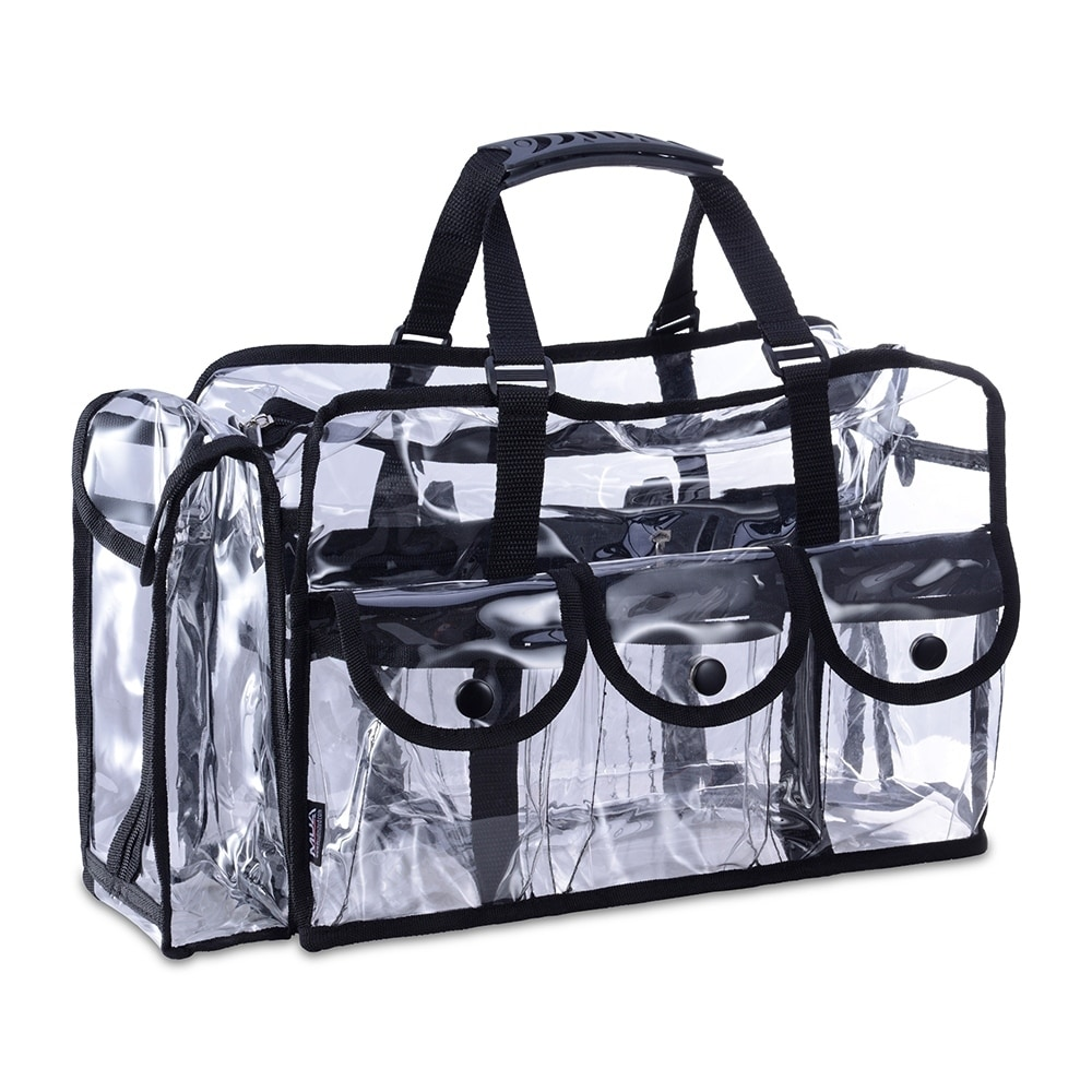 Shop KIOTA Makeup Artist Clear Cosmetic & Beauty Storage Set Bag Organizer - Free Shipping On Orders Over $45 - Overstock - 22277551