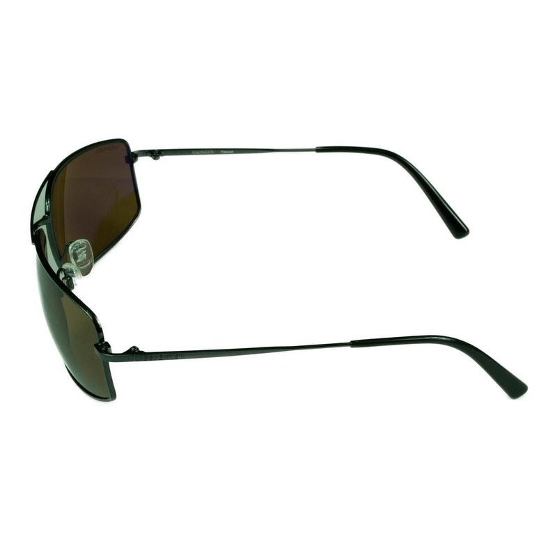 5c95e2c11d Shop Serengeti Mens Treviso Shiny Dark Gunmetal w  Polarized Drivers Lens -  Medium - Free Shipping Today - Overstock - 22281188