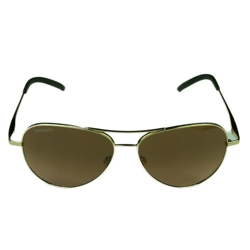 c7ae9f6c18 Shop Serengeti Unisex Carrara Small Shiny Gold w  Drivers Gradient Lens  Sunglasses - Free Shipping Today - Overstock - 22282683