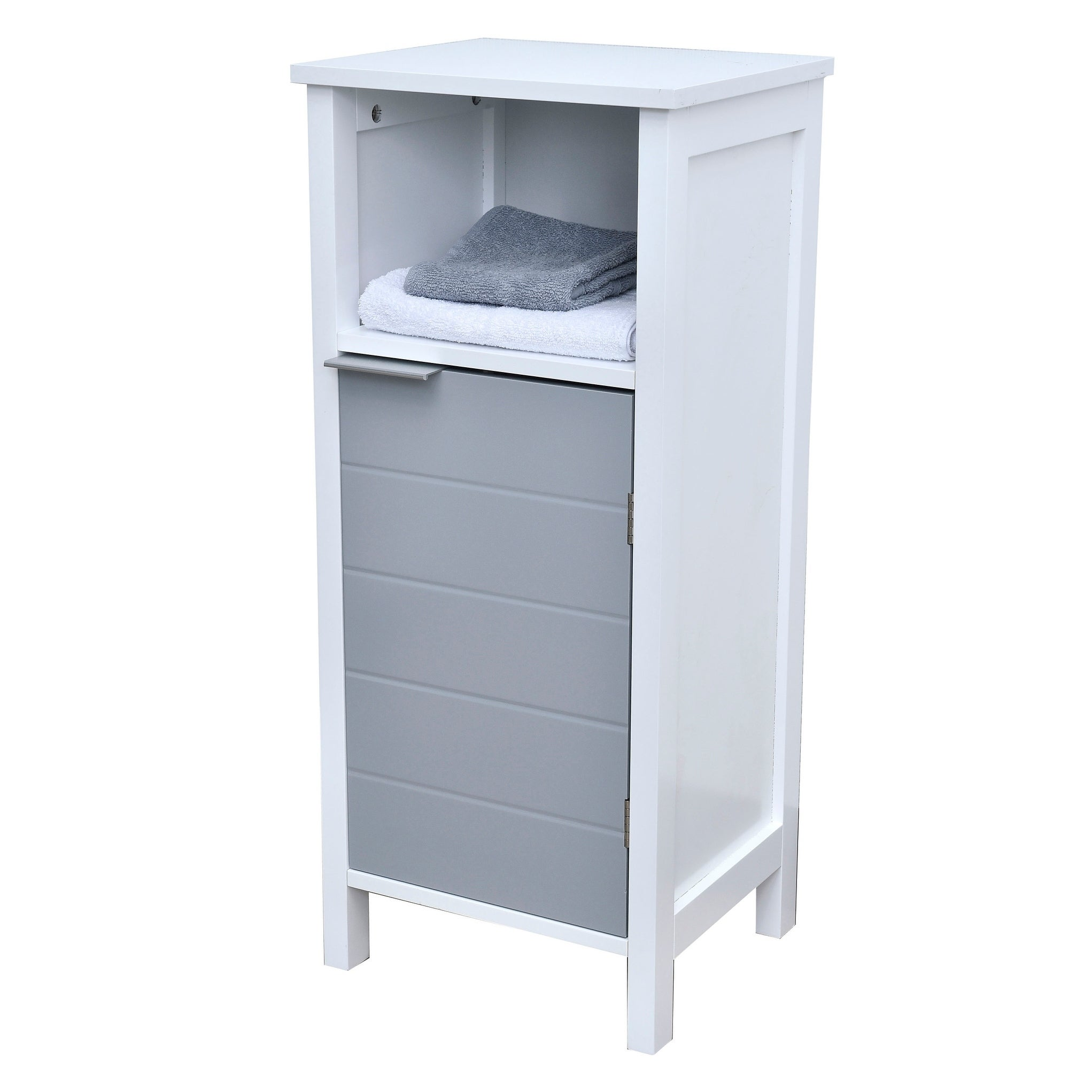 Shop Evideco Freestanding Bathroom Floor Storage Cabinet 1 Door with ...