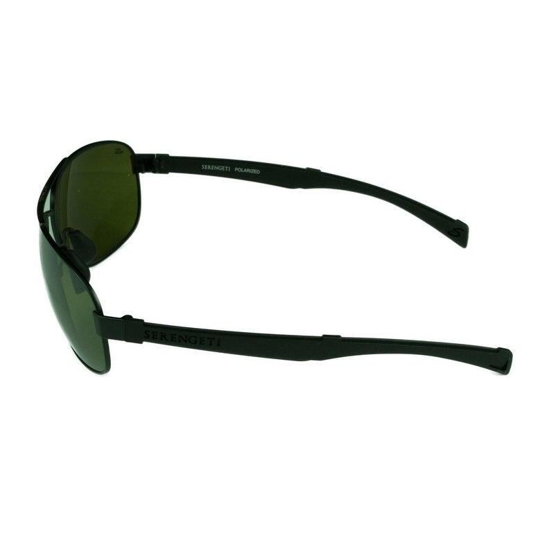 21b20586dd Shop Serengeti Norcia Satin Black Black w  Polarized 555NM Lens Sunglasses  - Black - Medium - Ships To Canada - Overstock.ca - 22286695