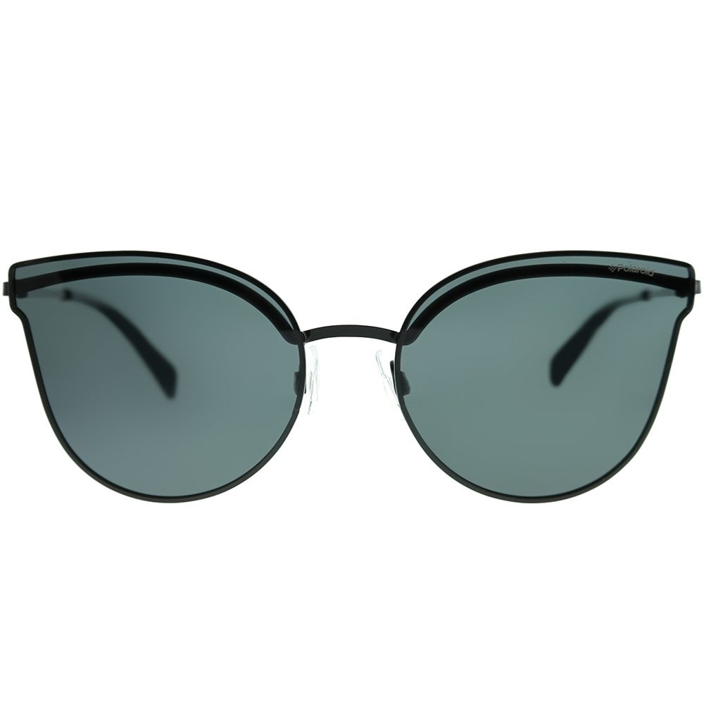 148be83ed2 Shop Polaroid Cat-Eye PLD 4056 S 2O5 M9 Women Black Frame Grey Polarized  Lens Sunglasses - On Sale - Free Shipping Today - Overstock - 22288591