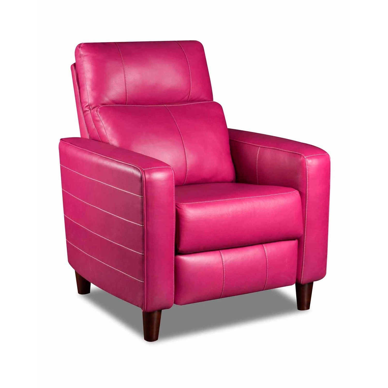Shop Southern Motion Triumph Pink Hi Leg Recliner Free Shipping