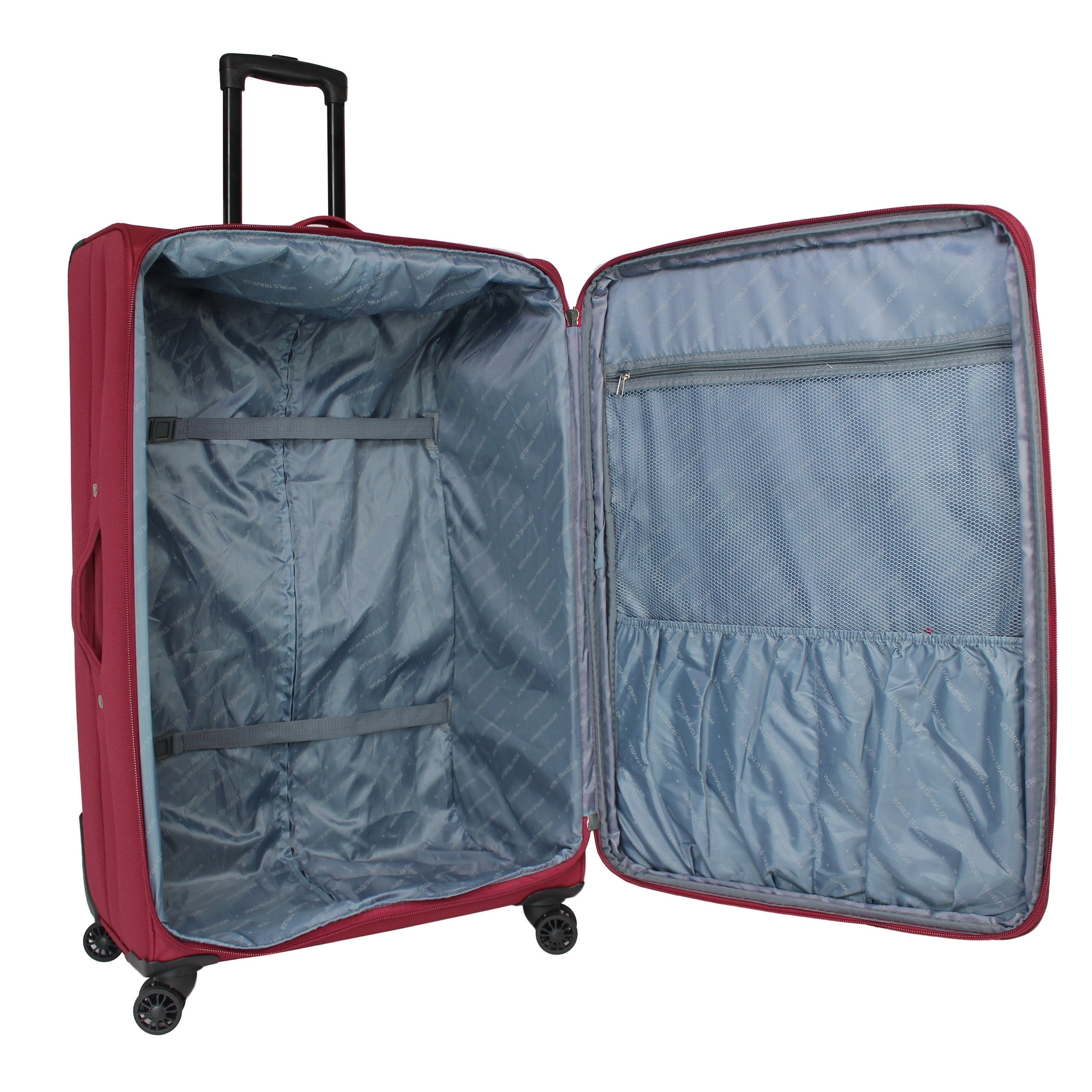 00cdf4a4c Shop Embarque Super Lightweight 2-piece Carry On Spinner Luggage Set - On  Sale - Free Shipping Today - Overstock - 22322948