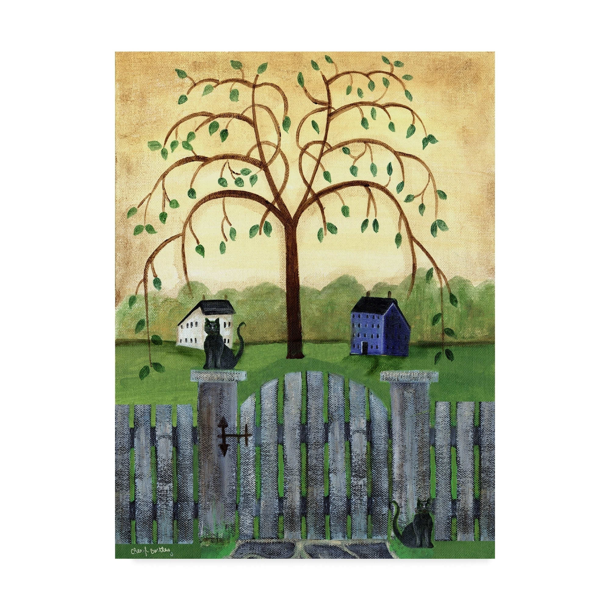 Amazing Willow Tree Color Image - Coloring Page - senderolasbrumas.info