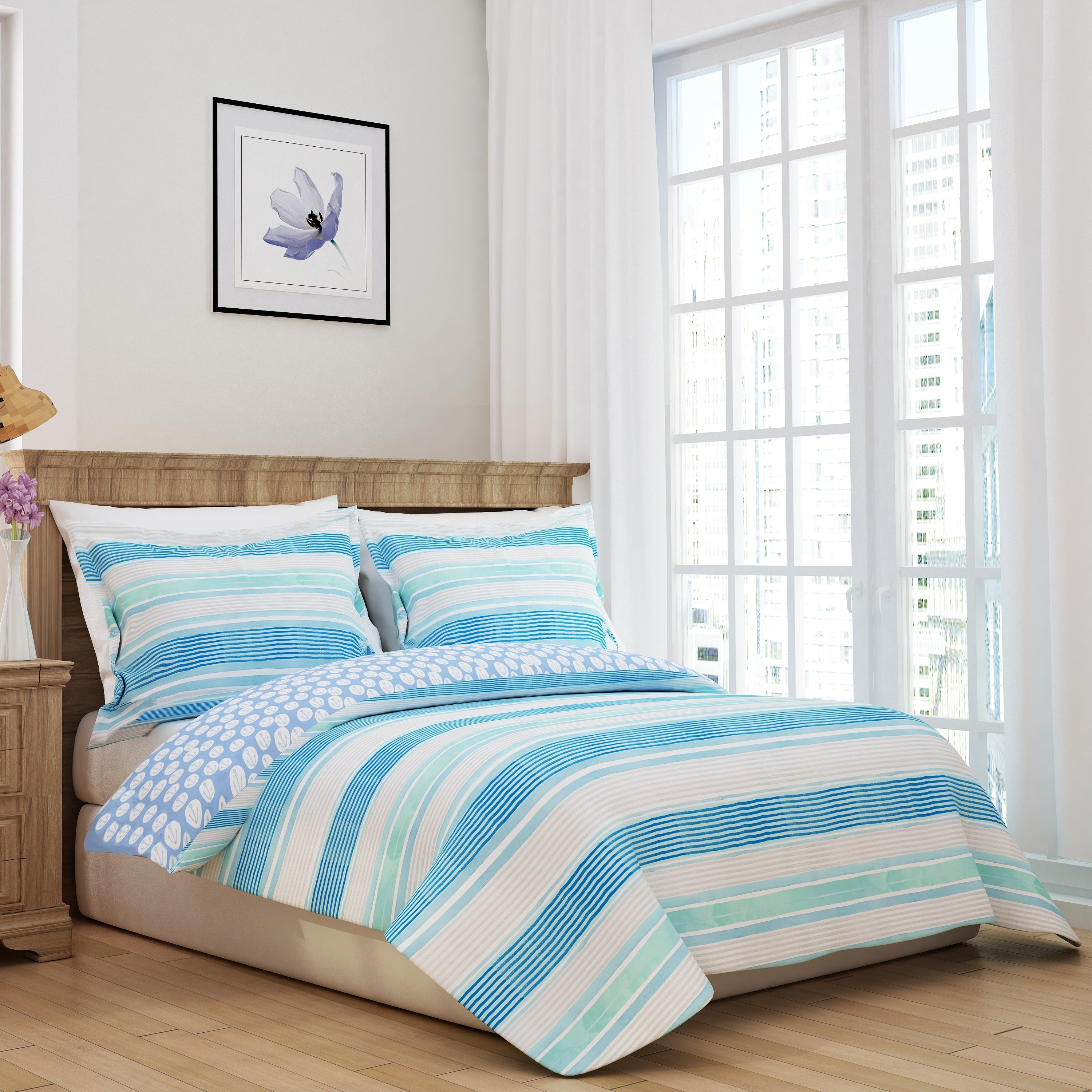 Nautical Stripe Duvet Cover Set On Free Shipping Today 22341386