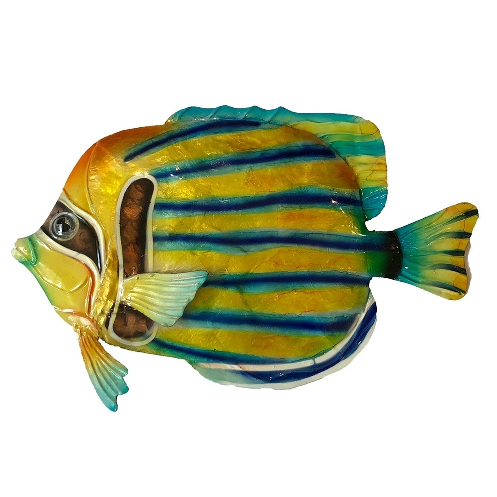 Shop Striped Angelfish Wall Decor - Free Shipping On Orders Over $45 ...